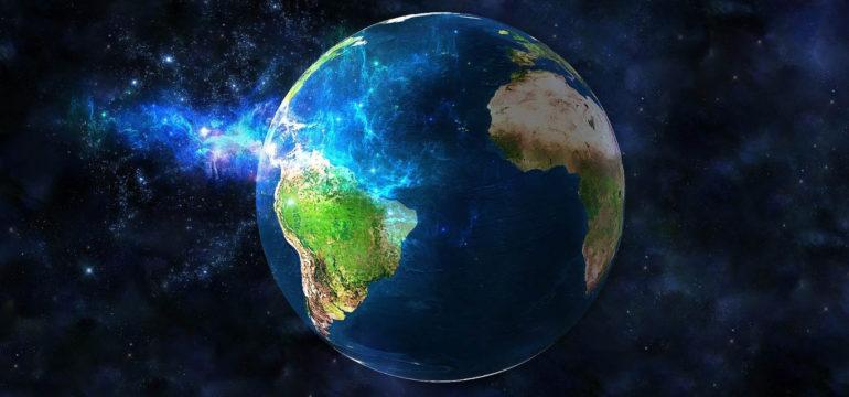pianeta terra spazio