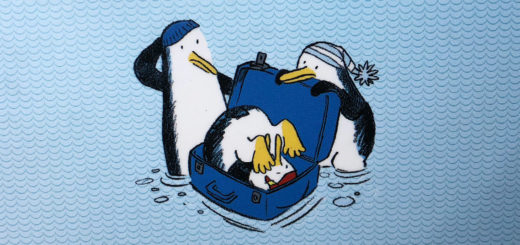 L'arca parte alle otto. pinguini
